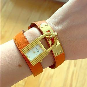 Hermes classic lock watch